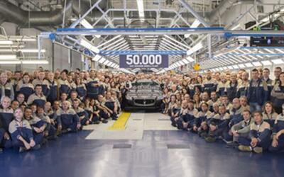 El auto afortunado fue un Quatroporte destinado al mercado de EEUU.