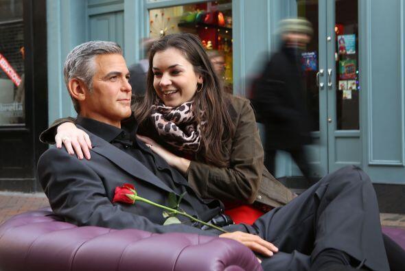 También esta mujer creyó que estaba frente al George Cloon...