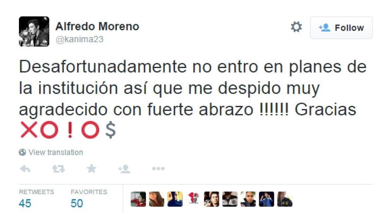 Alfredo Moreno