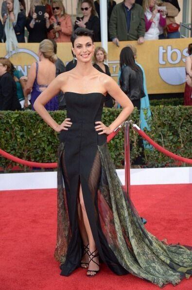 Morena Baccarin deslumbró a todos con este vestido extraño...