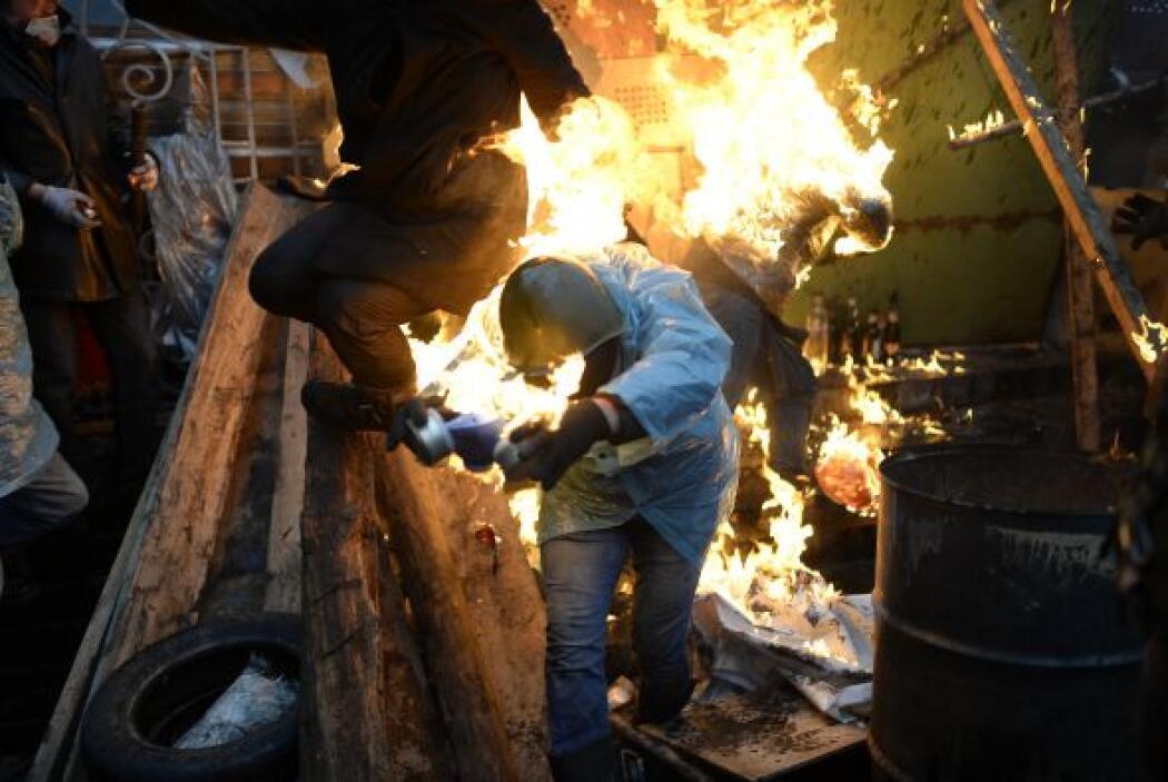 El activista dijo creer que un grupo prorruso fue responsable de su secu...