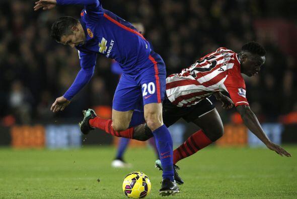 El Southampton trató de cerrarle los espacios al United y mantener el do...