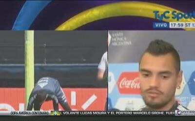 """Sergio Romero: """"Esperamos que Messi regrese con todas las pìlas"""""""