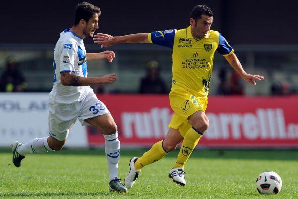 Anteriormente, el Chievo Verona recibió la visita del Brescia.