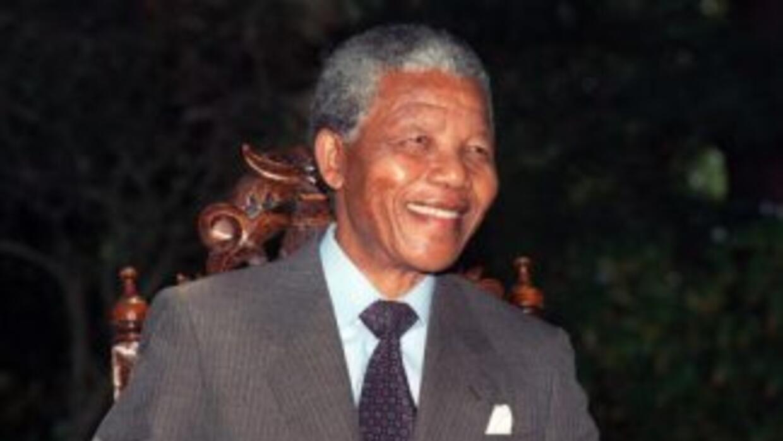 Así fueNelson Mandela.
