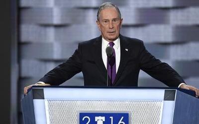 """Michael Bloomberg sobre Trump: """"Soy de Nueva York y reconozco un estafad..."""