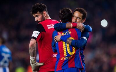 Barcelona superó 2-1 al Leganés