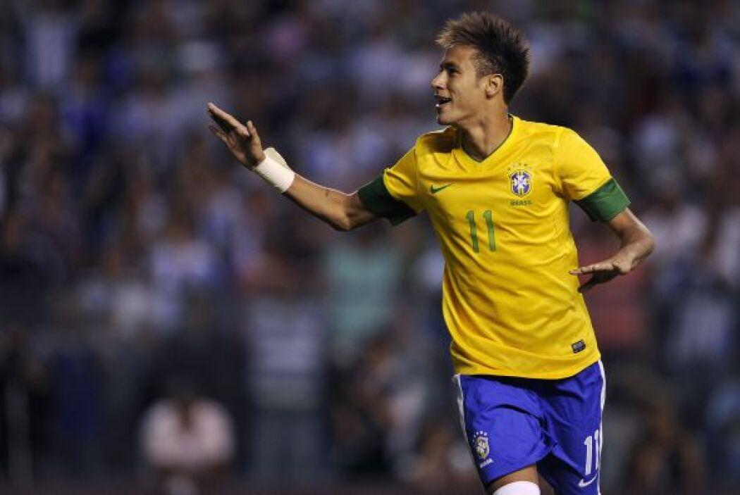 Neymar: El único futbolista que tenemos en esta lista que no juega en Eu...