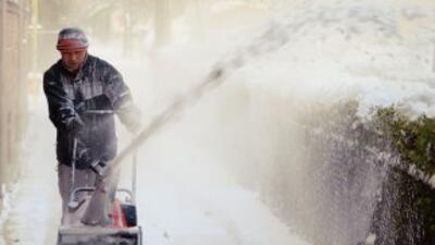 La nieve es un factor común en los inviernos de Chicago.