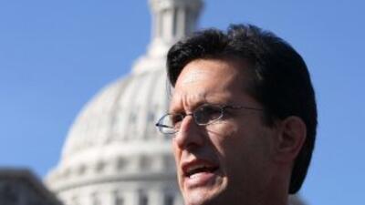 El líder de la mayoría republicana en el Congreso, Eric Cantor.