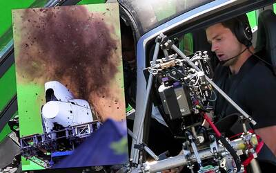 Jamie Dornan estrella un helicóptero