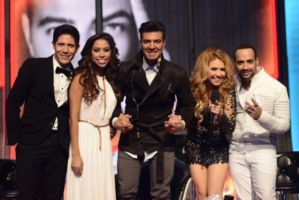 Fernando Corona con el resto del equipo de Jen en la gala 11.
