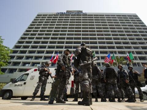 La violencia volvió a apoderarse de Río de Janeiro este s&...
