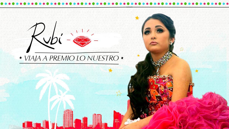 El diario de Rubí en Premio Lo Nuestro, serie web de Univision Digital