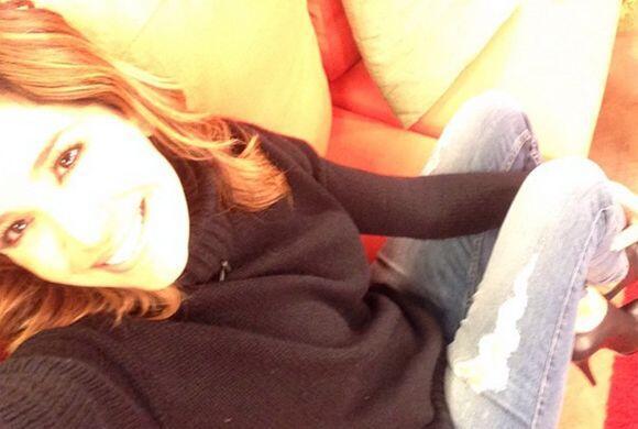 """""""Aquí relax! #Viernesrelax"""", compartió Karla. (D..."""