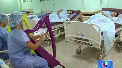 Bebés en Venezuela nacen bajo el ritmo de la música