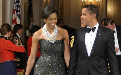 Descubre cómo Michelle Obama se ha convirtió en icono de moda durante es...
