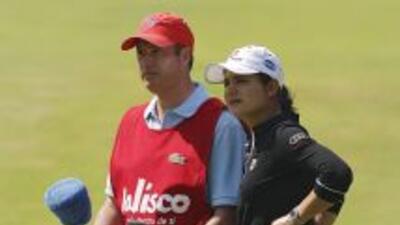 Lorena ochoa y su esposo Andrés Conesa esperan a su primer bebé. Ochoa s...
