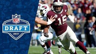 Myles Garrett College Highlights & 2017 NFL Draft Profile