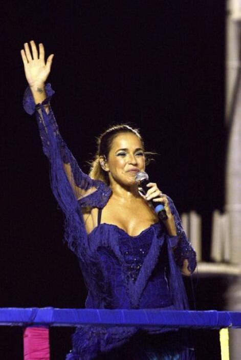 Daniela Mercury La cantante brasileña declaró ser bisexual y presentó a...