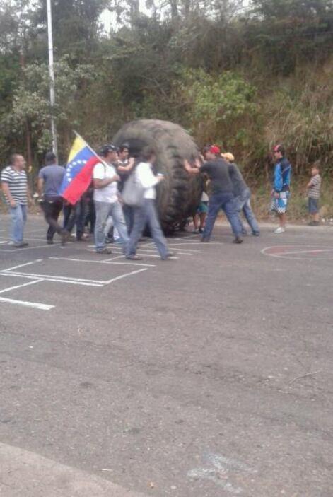 El estado Táchira se convirtió en el líder de las protestas contra el go...