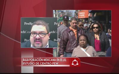 Desciende el número de inmigrantes mexicanos