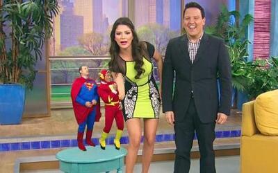 Despierta América tiene dos superhéroes chiquitines