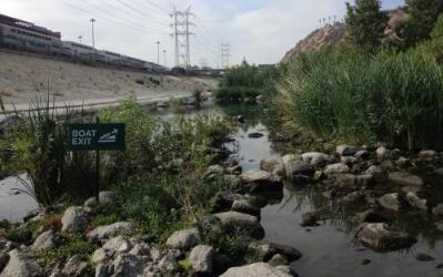 El río de Los Ángeles tiene varios puntos con problemas de contaminación.