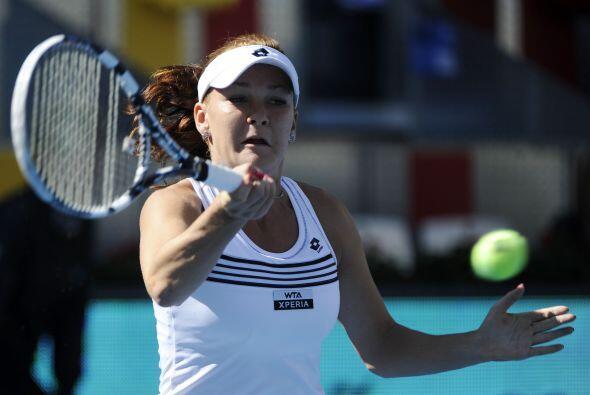 La polaca Agnieszka Radwanska derrotó a la italiana Sara Errani (...