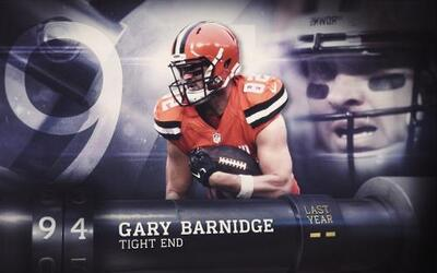 Top 100 Jugadores 2016: (Lugar 94) TE Gary Barnidge - Browns