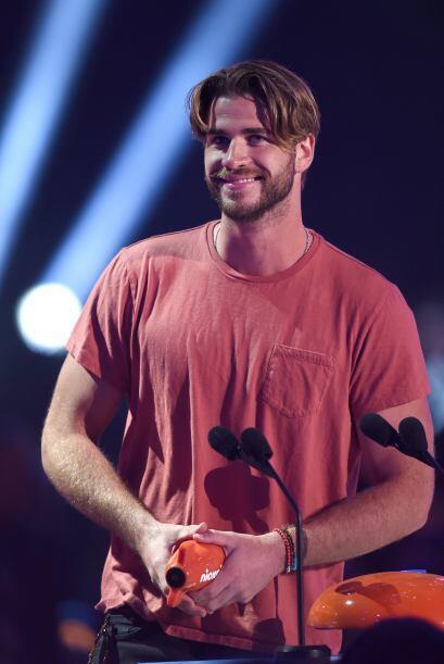 Liam Hemsworth recibió premios a nombre de 'The Hunger Games'.