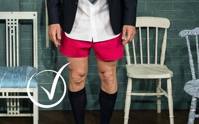 Esta es la arriesgada propuesta masculina que la marca Thomas Pink hizo...