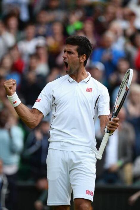 Por su parte, el serbio Novak Djokovic, logró colarse a los cuartos de f...
