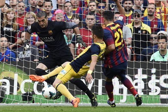 No se amilanó el Atlético, y pese a jugar de visitante y con las dos baj...