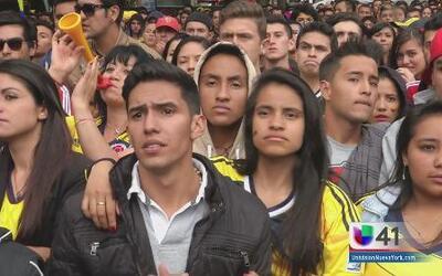 Bogotá, sumida en la tristeza luego de la eliminación de Colombia