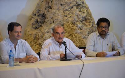 Negociadores de la paz de Colombia