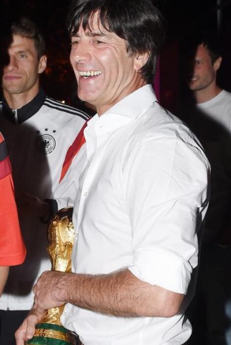 Joachim Löw, la mente maestra detrás de este logro.