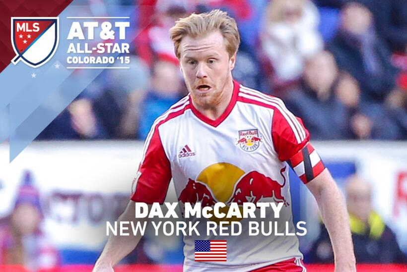 Dax McCarty de los New York Red Bulls reemplazará a Frank Lampard