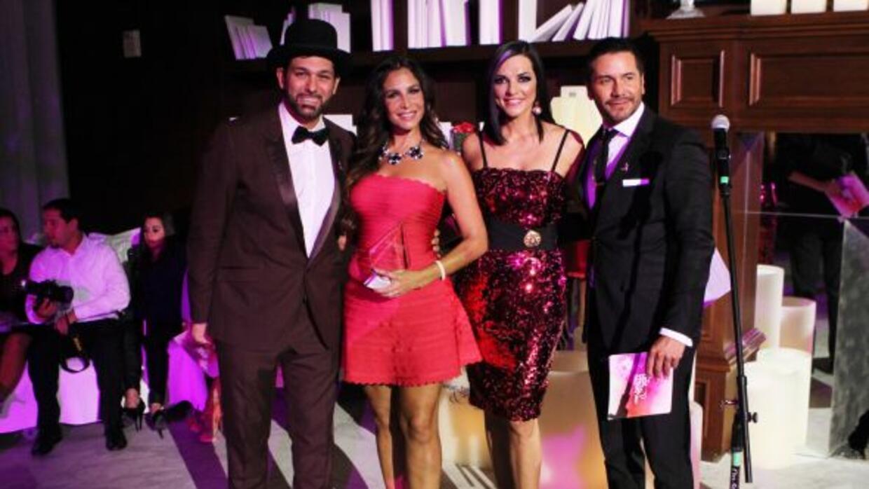 Leonardo Rocco, Lorena Rojas, Candela Ferro y Alberto Salaberri.