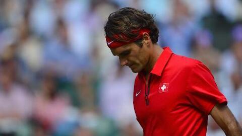 El maldito tiempo ha perpetuado la maldición olímpica de Roger Federer