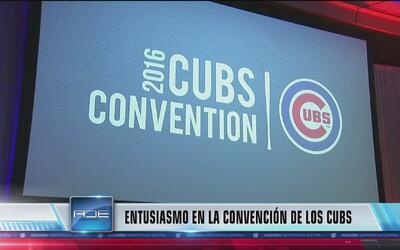 Entusiasmo en la convención de los Cubs
