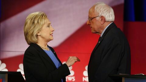 Sanders no muerde ese anzuelo llamado Bill Clinton