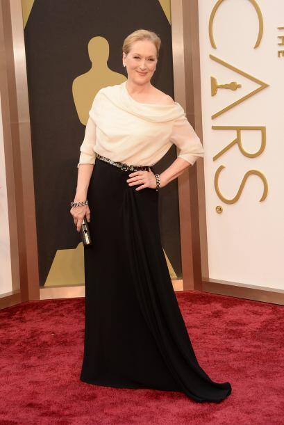 Podrá ser una excelente actriz, pero Meryl Streep está muy lejos de ser...