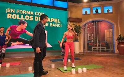 Claudia Molina en Despierta América