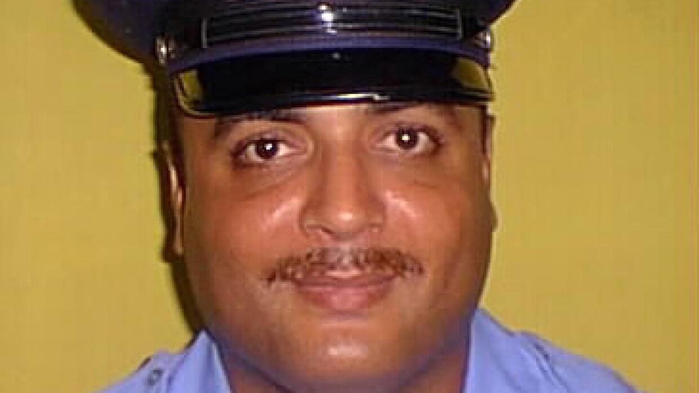 El agente Guarionex Candelario Rivera.