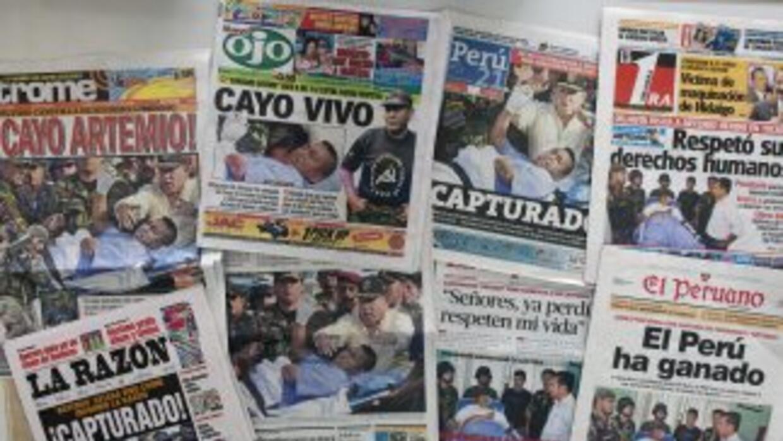 """'Camarada Artemio"""" líder de Sendero Luminoso fue capturado por la policí..."""