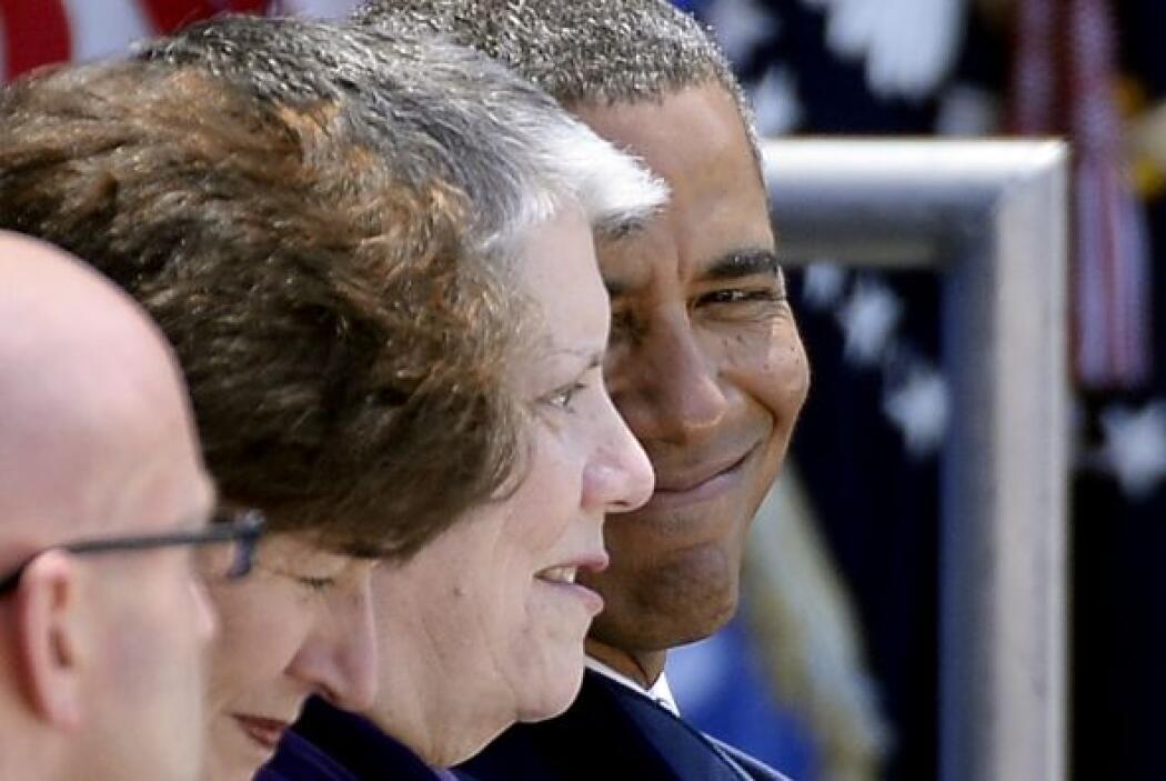Pero durante el evento, Obama tuvo tiempo para externar su carisma.