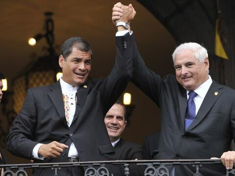 El presidente de Ecuador, Rafael Correa, sumó su sexto triunfo electoral...