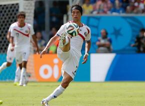 Bolaños jugó dos mundiales con Costa Rica.