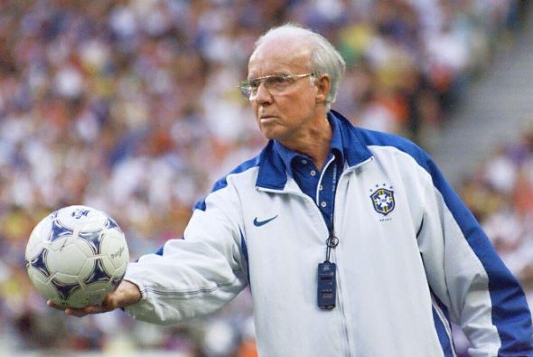 Mário Jorge Lobo Zagallo jugó para Brasil en las Copas del mundo de 1958...